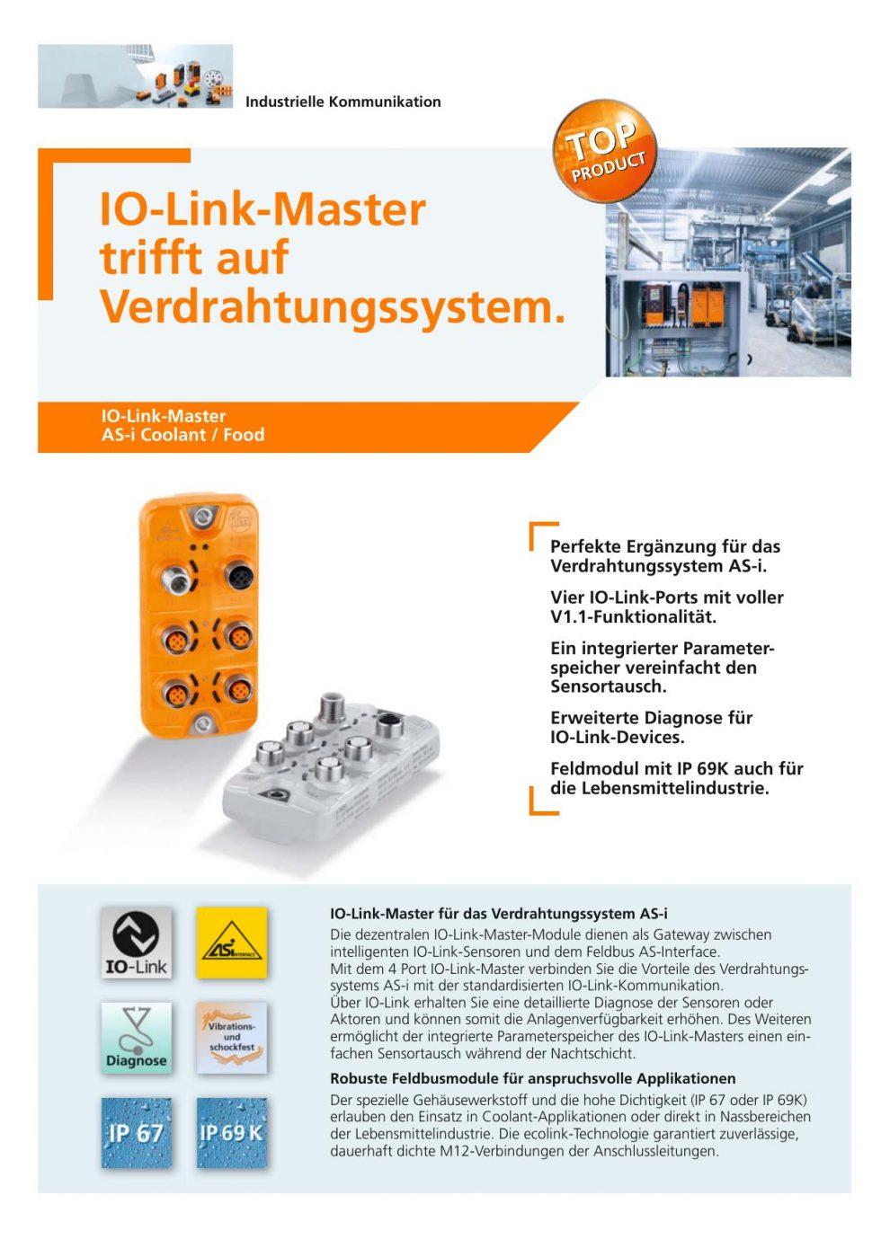 IO-Link-Master-Module