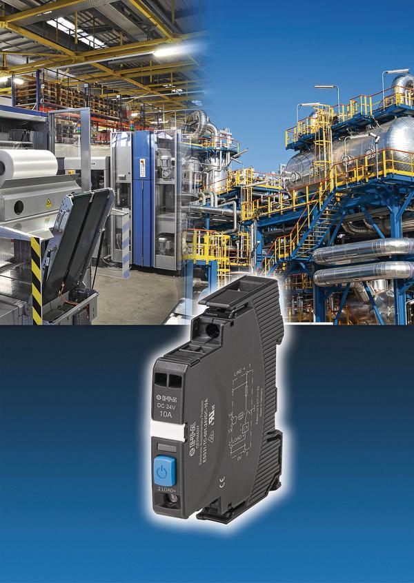 Elektronischer Schutzschalter für 24-V-Stromkreise Normenkonform mit ...
