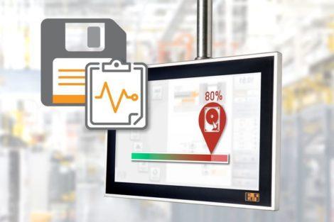 B&R-Steuerungstechnik überwacht Speichermedien