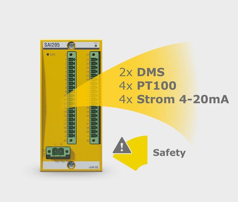 Safety-Analog-Eingabemodul
