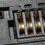 Der Kontaktwerkstoff an der IO-Baugruppe ist goldbeschichtet
