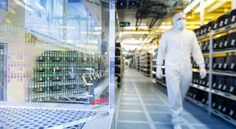 Bosch 5G-Tests in der Produktion