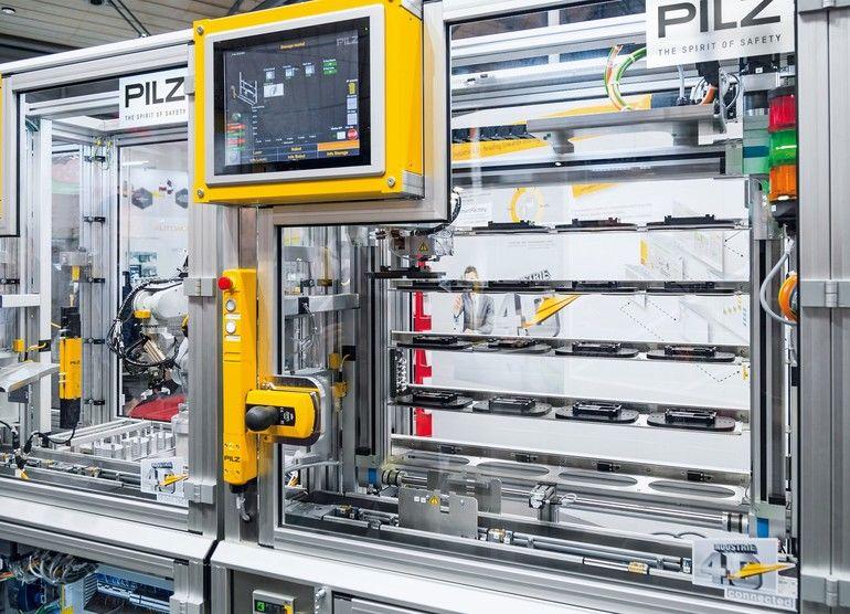 CE-Kennzeichnung Pilz Automation on Tour 2020 Maschinensicherheit