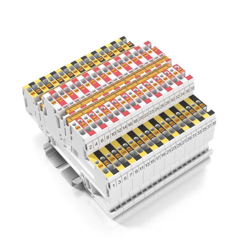 Doppelstockklemme Weidmüller Klippon-Connect-Applikationsprogramm