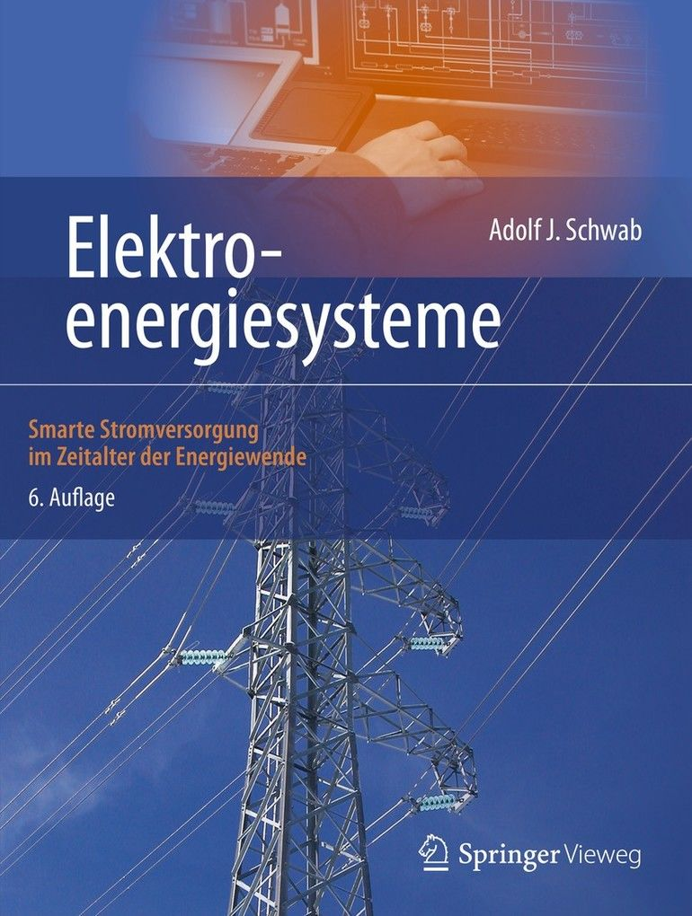 Elektroenergiesysteme-Springer-Cover