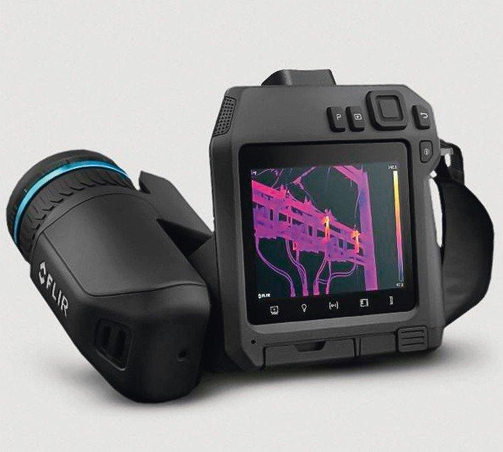 Flir-T840-Infrarotkamera