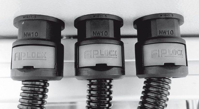 Fränkische Industrial Pipes Tsubaki Kabelschlepp kabelschutz