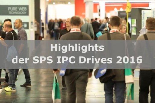 Impression von der SPS IPC Drives 2016 Bild: Mesago/Thomas Geiger