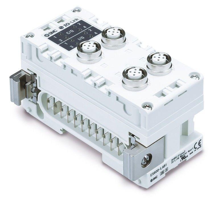 IO-Link-Master-Modul-SMC-EX600-Feldbussystem_