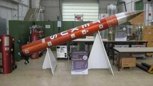 Eine TEXUS-Rakete (Payload-Module) - im Rahmen des Forschungsprogramms TEXUS/MAXUS nutzt Airbus DS nun auch die CompactRIO-Plattform sowie LabVIEW Bild: National Instruments
