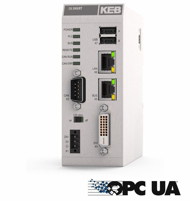 Industrie-PC KEB Automation OPC UA