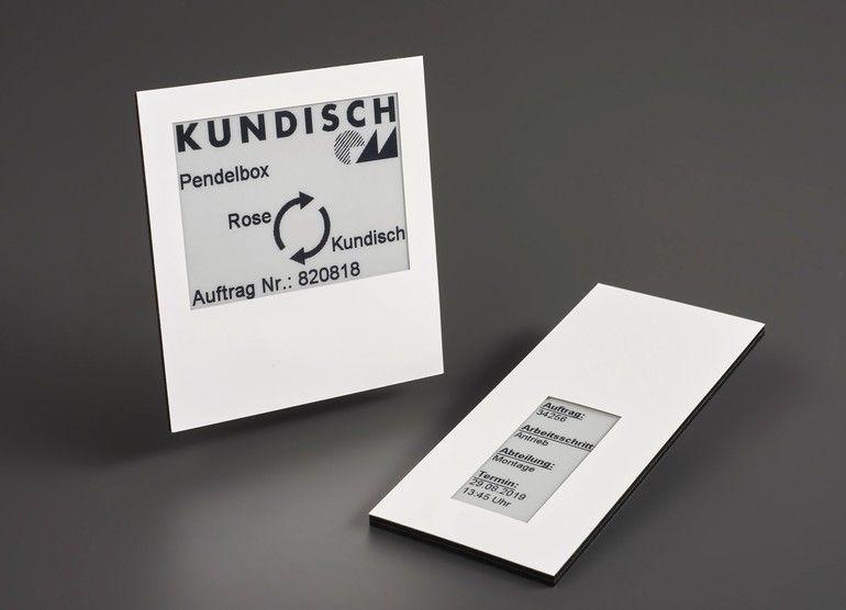 Kundisch batterielose E-Paper Near Field Communication (NFC)