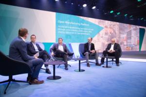 Open-Manufacturing-Platform BMW Bosch Microsoft Anheuser-Busch InBev zf friedrichshafen