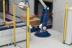 Roboter-Arbeitsplatz maschinensicherheit schmersal