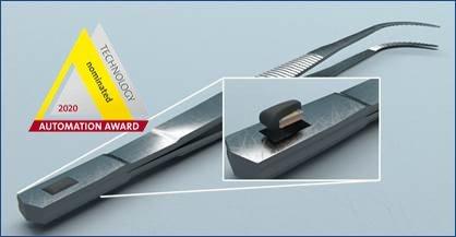 A_pair_of_metal_tweezers_with_RFID_tag