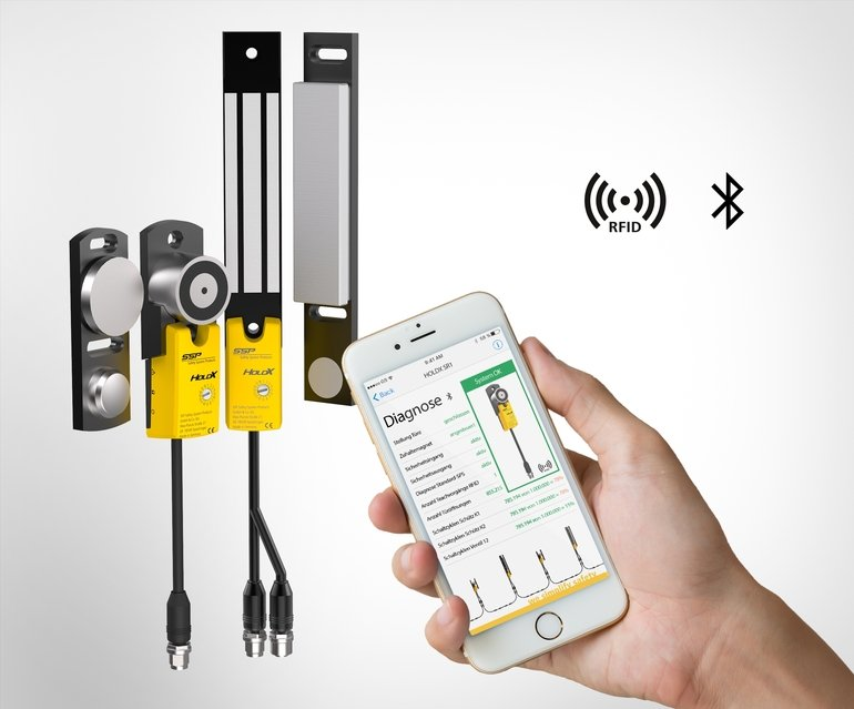 RFID-Sicherheitssensor