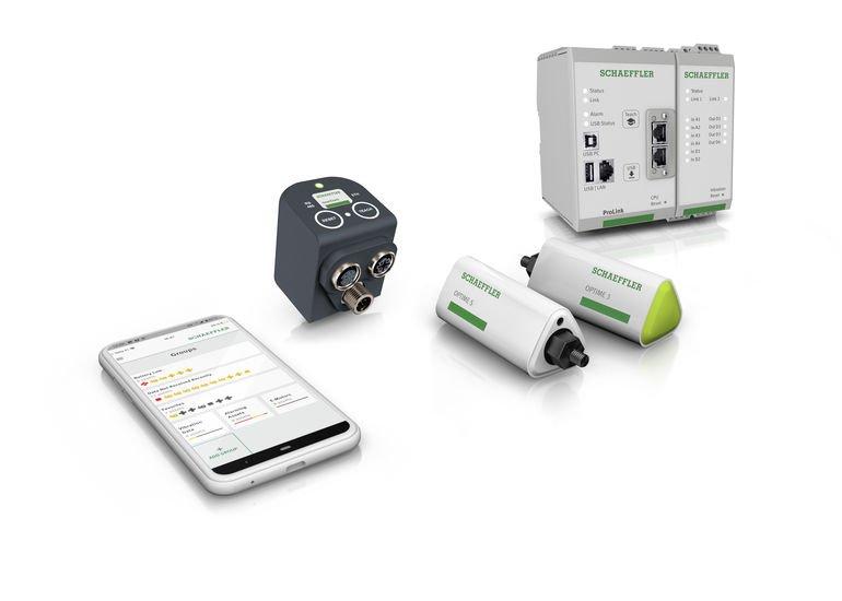 Schaeffler Zustandüberwachungs-Lösungen Condition-Monitoring-System Instandhaltung