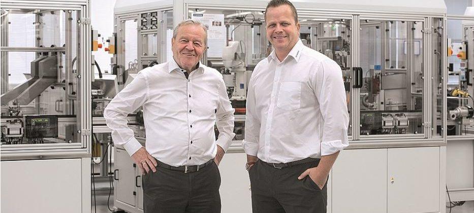 Die geschäftsführenden Gesellschafter Heinz und Philip Schmersal