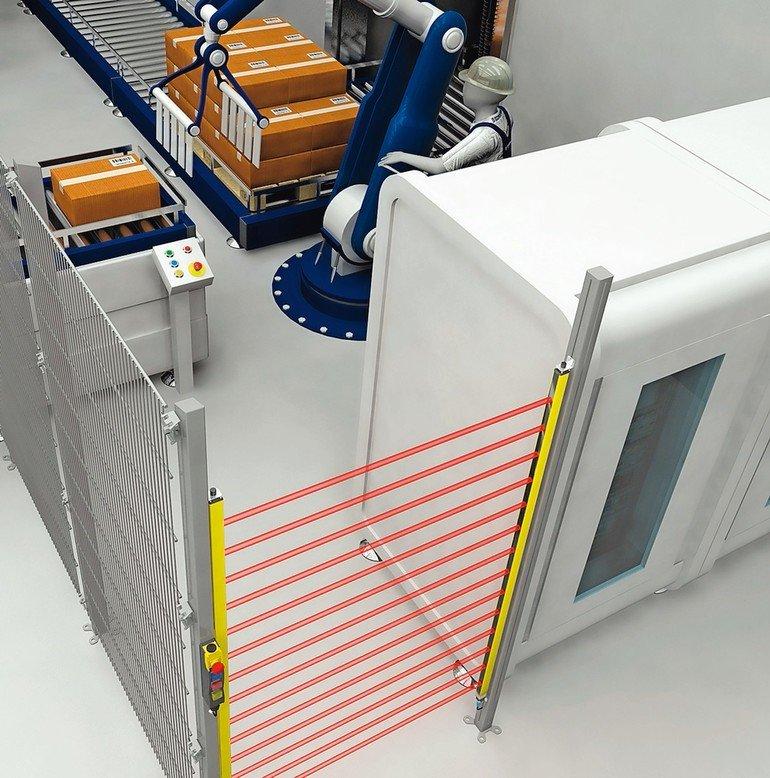 Sicherheitslösungen für Industrieroboter