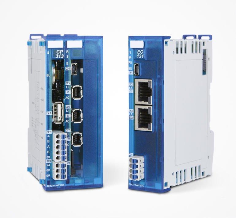 Sigmatek S-DIAS-Reihe CPU- und Anschaltmodul Varan und EtherCAT