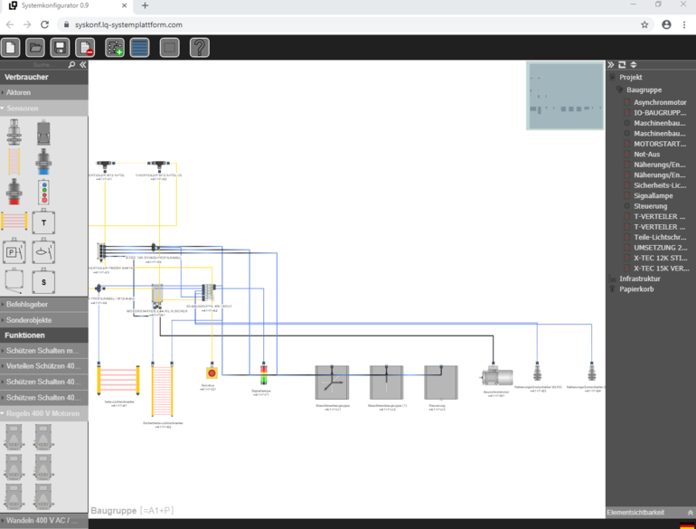LQ Mechatronik-Systeme Motorstarter A-TEC