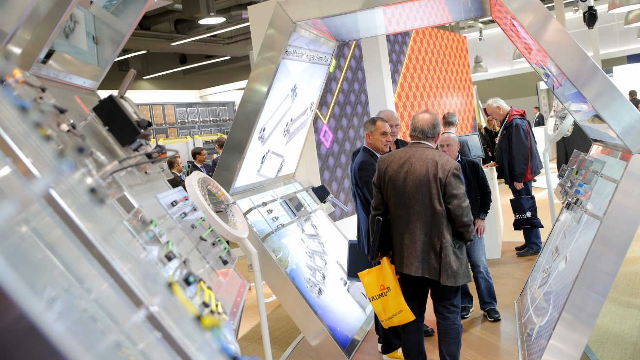 Impression der SPS IPC Drives Bild: Mesago/Thomas Geiger
