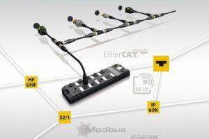 HF-Busmodus erleichtert Installation von RFID-Lesern_
