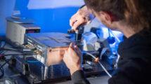 Test an einem Quantensensor