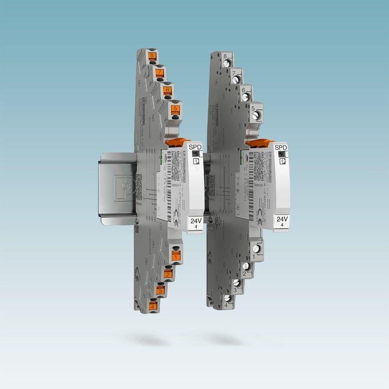 Überspannungsschutz Termitrap-Phoenix-Contact Schutzgerät TTC-6P-4