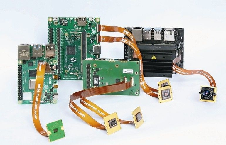 Vision Components MIPI-Kameradule MIPI-CSI-2-Schnittstelle