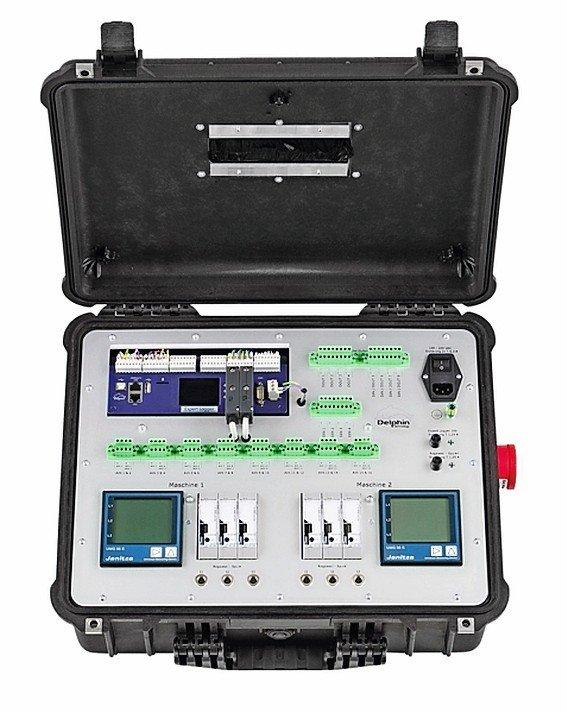 Messkoffer mit integrierter OPC-UA-Schnittstelle