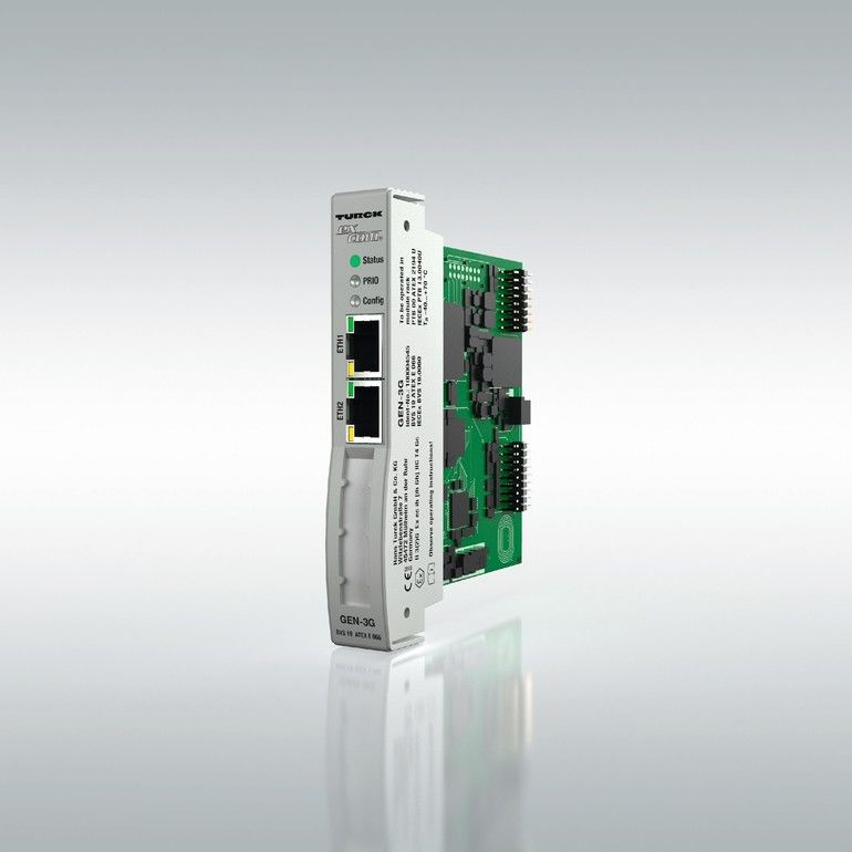 excom-Gateway-von-Turck S2-Systemredundanz Zone-2-Ethernet-Gateway