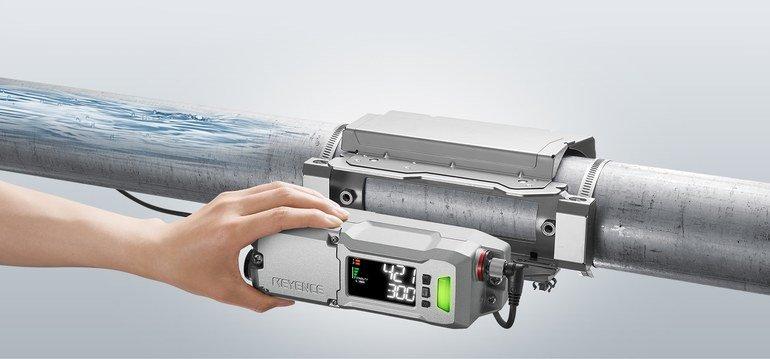 Anklemmbarer Durchflusssensor FD-R